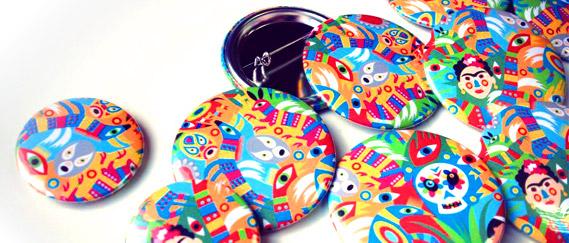 Pinspop, boutique de badges personnalisés